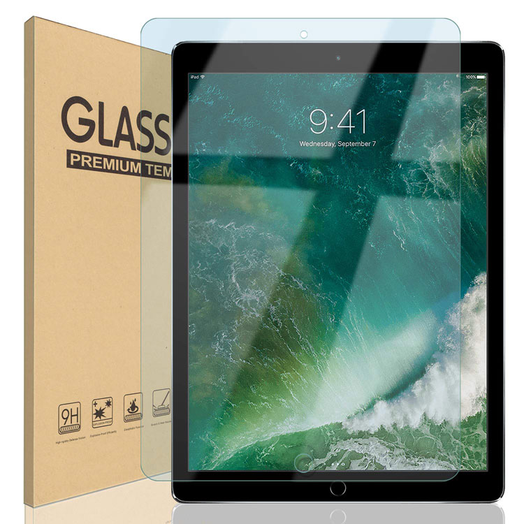 iPad 9.7 10.5 12.9 ブルーライトカット ガラスフィルム Pro 12.9 (2015/2017) 10.5(Air 2019 / Pro 2017) iPad 9.7 インチ(2018/2017/Pro/Air2/Air) フィルム 保護フィルム 液晶保護フィルム 日本製ガラス 強化ガラス 硬度9H 18カ月保証 BSS ゆうパケット
