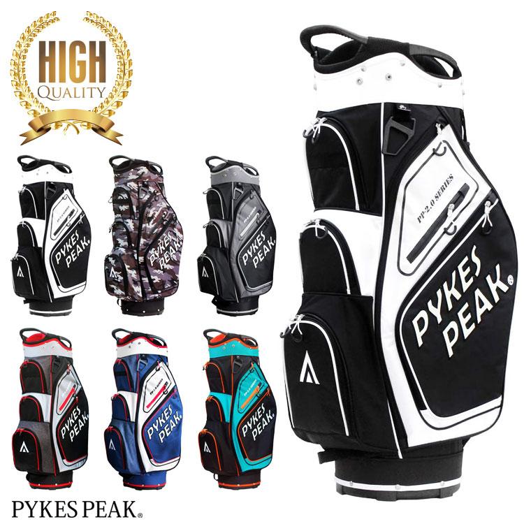 キャディバッグ 国際ブランド 再入荷 予約販売 メンズ 軽量 カート キャディーバック 大容量 レディース ゴルフバッグ ゴルフケース 送料無料 PEAK 公式 ソフトケース ゴルフ PYKES FBA パイクスピーク