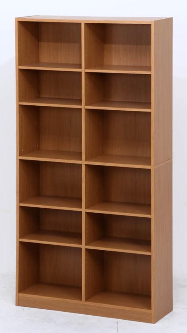 ブックシェルフ おしゃれ 本棚 棚 ラック 収納 カラーボックス CDラック 木製 収納ボックス 書棚 収納棚 DVDラック 飾り棚 収納家具 フリーラック 絵本棚 幅90