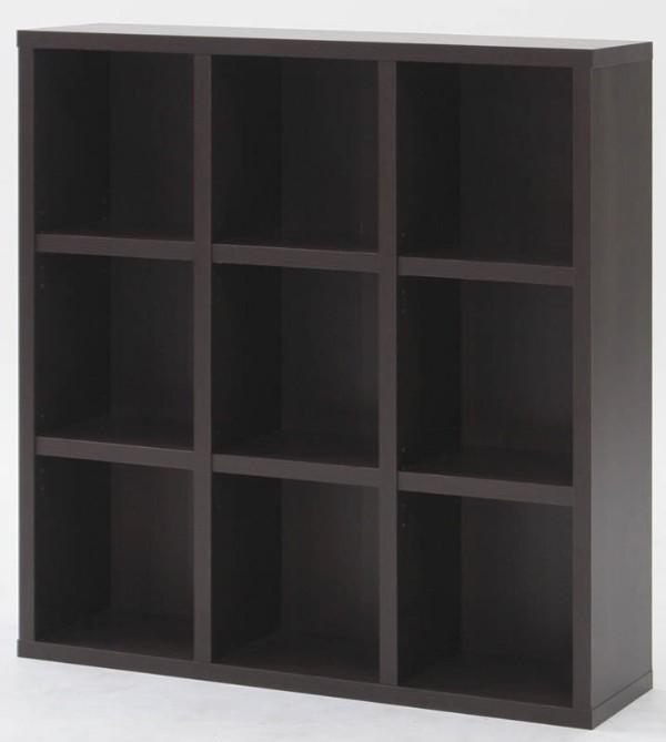 ブックシェルフ おしゃれ 本棚 棚 ラック 収納 カラーボックス CDラック 木製 収納ボックス 書棚 収納棚 DVDラック 飾り棚 収納家具 フリーラック 絵本棚 幅105