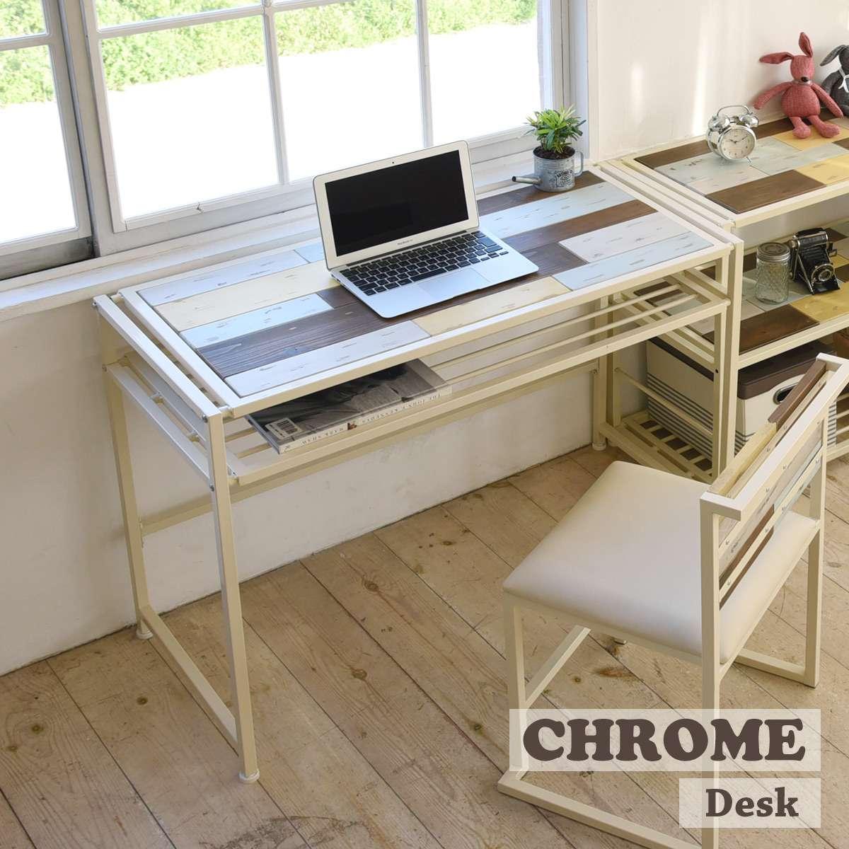 パソコンデスク 机 デスク スリム 白 シンプル おしゃれ 幅100 ハイタイプ パソコン ホワイト つくえ PCデスク 学習机 大学生 幅狭い 奥行45