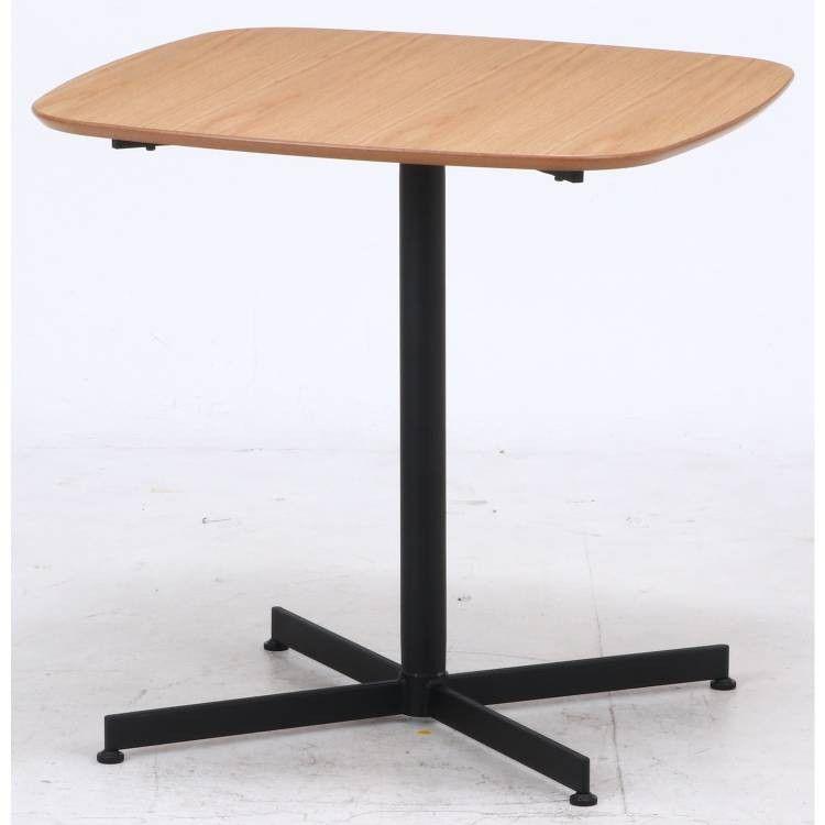 センターテーブル 大きい 木製 北欧 リビングテーブル 75 コンパクト おしゃれ インテリア アンティーク 安い 一本脚 業務用 正方形 アイアン 高さ70