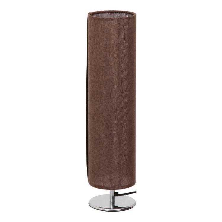 クリアランスsale 期間限定 ファブリックテーブルランプ RO60 ブラウン ディスカウント