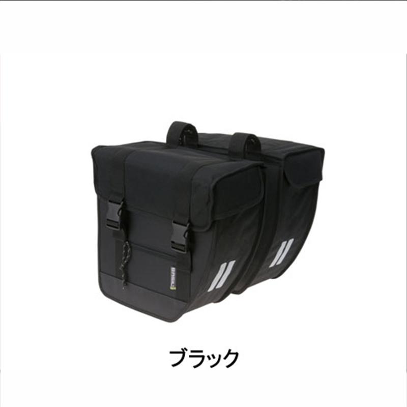BASIL(バジル) TOUR (ツアー ダブル) ブラック[サイド・パニアバッグ][自転車バッグ]