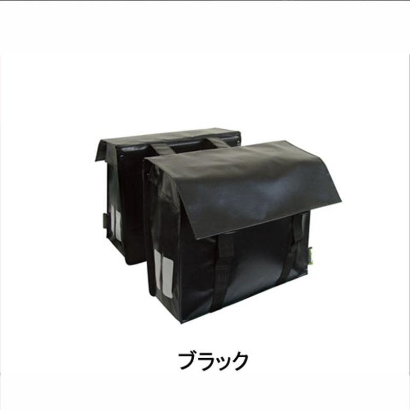 BASIL(バジル) BASIL BASONYL DOUBLE BAG (バソニール ペア) ブラック[サイド・パニアバッグ][自転車バッグ]
