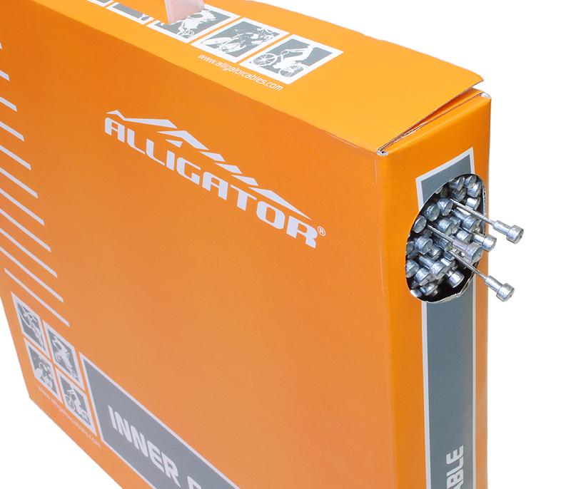 ALLIGATOR (アリゲーター) LY-BPT6101617 Inner cable for ROAD brake (ROADブレーキ用インナーケーブル) P.T.F.Eコート BOX 100本入[ブレーキワイヤー・ホース][消耗品・ワイヤー類]