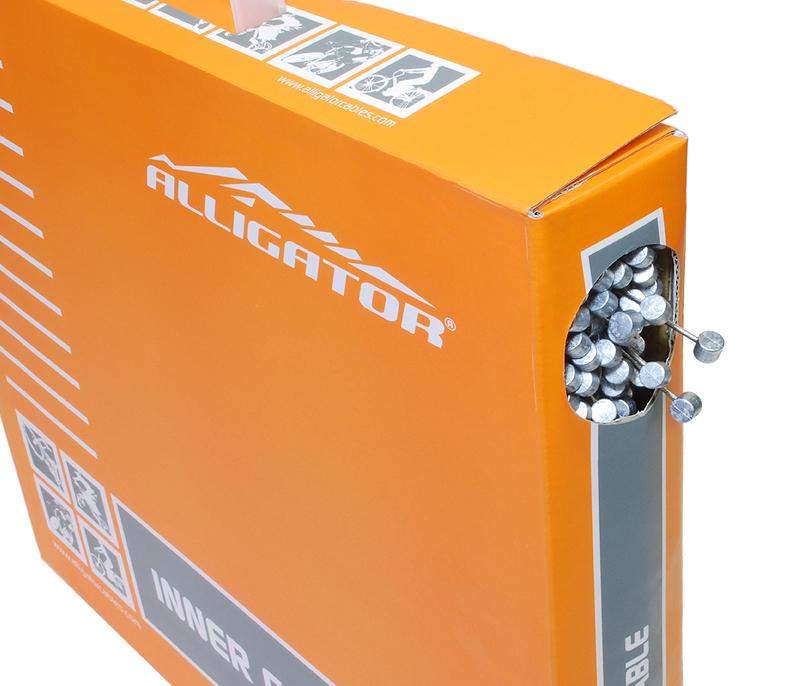 ALLIGATOR (アリゲーター) LY-BSTSK761617 Inner cable for ATB / MTB Brake (ATB/MTBブレーキ用インナーケーブル) BOX 100本入[ブレーキワイヤー・ホース][消耗品・ワイヤー類]