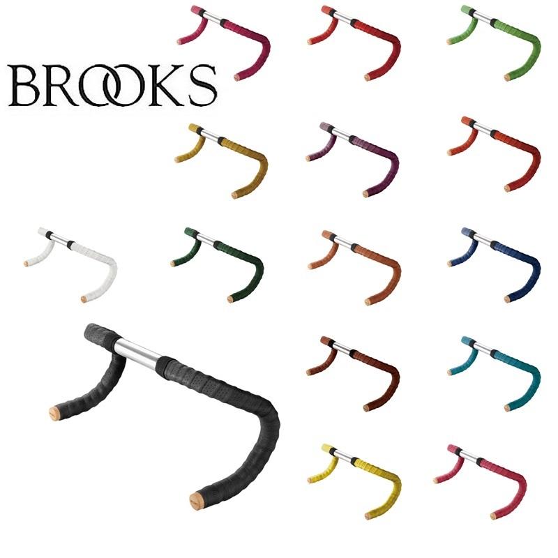 《即納》BROOKS ブルックス LEATHER BAR TAPE レザーバーテープ[ハンドル・ステム・ヘッド]