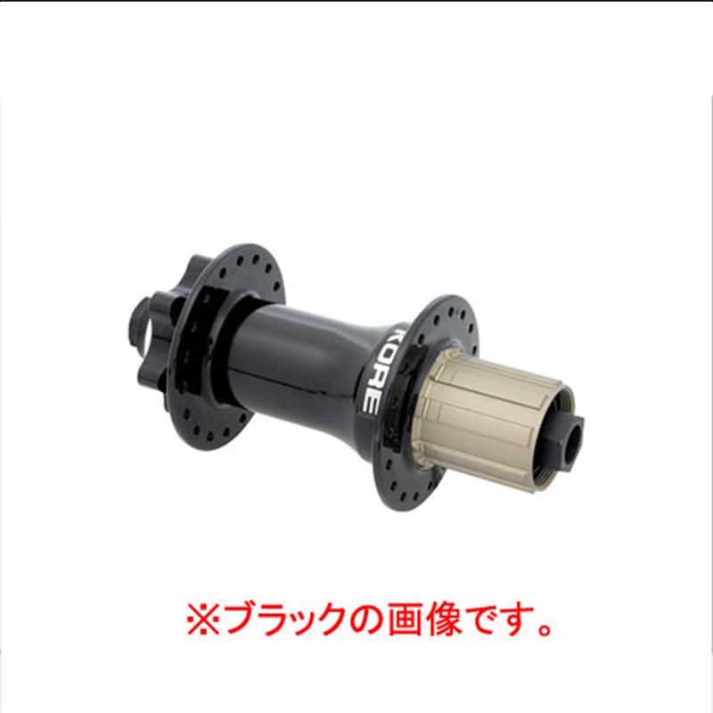 KORE (コア) TORSION REAR 150 HUB (トージョンリア150ハブ) ホワイト&レッド [MTB] [パーツ] [ハブ]