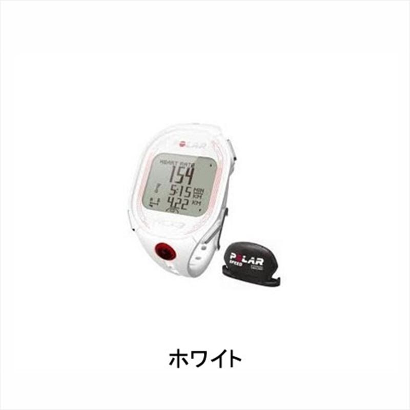 POLAR (ポラール) RCX3 BIKE (RCX-3 バイク) ホワイト[サイクルメーター・コンピューター][ワイヤレス][心拍計付き]