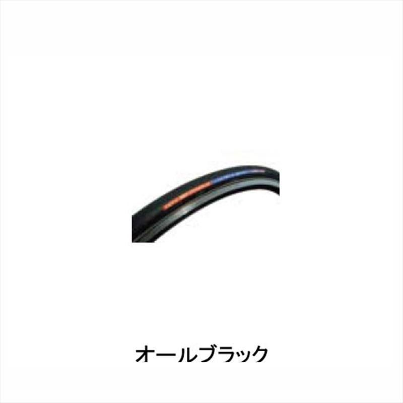 "SOYO TYRE (ソーヨータイヤ) ULTRA-Z CKV-250 (ウルトラ-Z CKV-250) 28""×21.5mm オールブラック[700×22~24c][チューブラータイヤ][タイヤ・チューブ]"