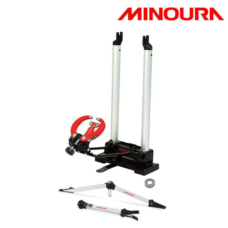【5月25日限定!エントリーでポイント最大14倍】MINOURA ミノウラ 箕浦 RIM TRUING STAND SET FT-1COMBO (リム振れ取り台セット FT1コンボ) [工具] [メンテナンス] [ロードバイク]
