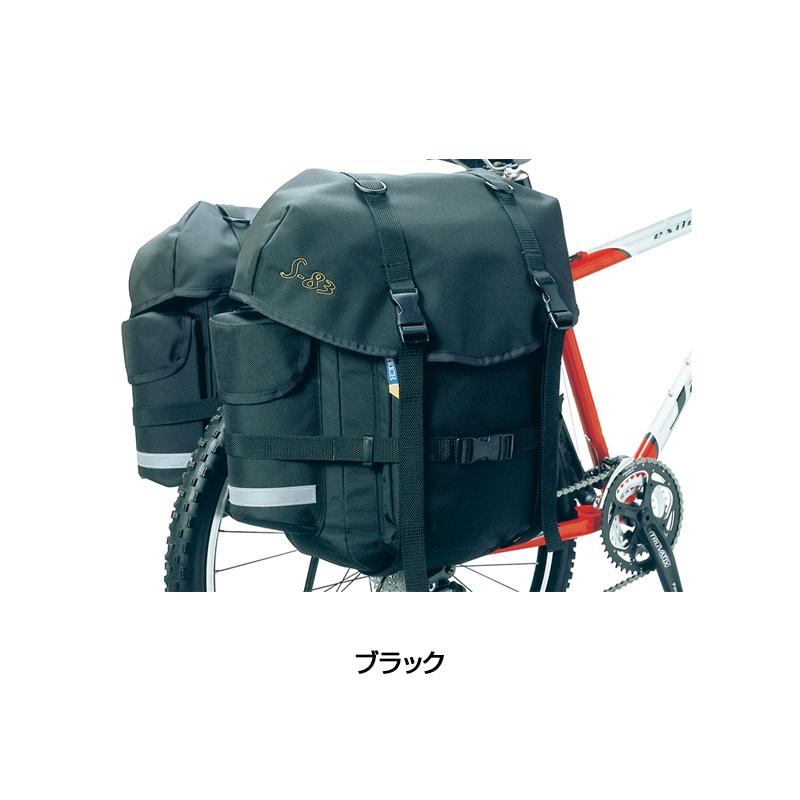 OSTRICH オーストリッチ S-83 SIDE BAG S-83 サイドバッグ (レインカバー付)[サイド・パニアバッグ][自転車バッグ]