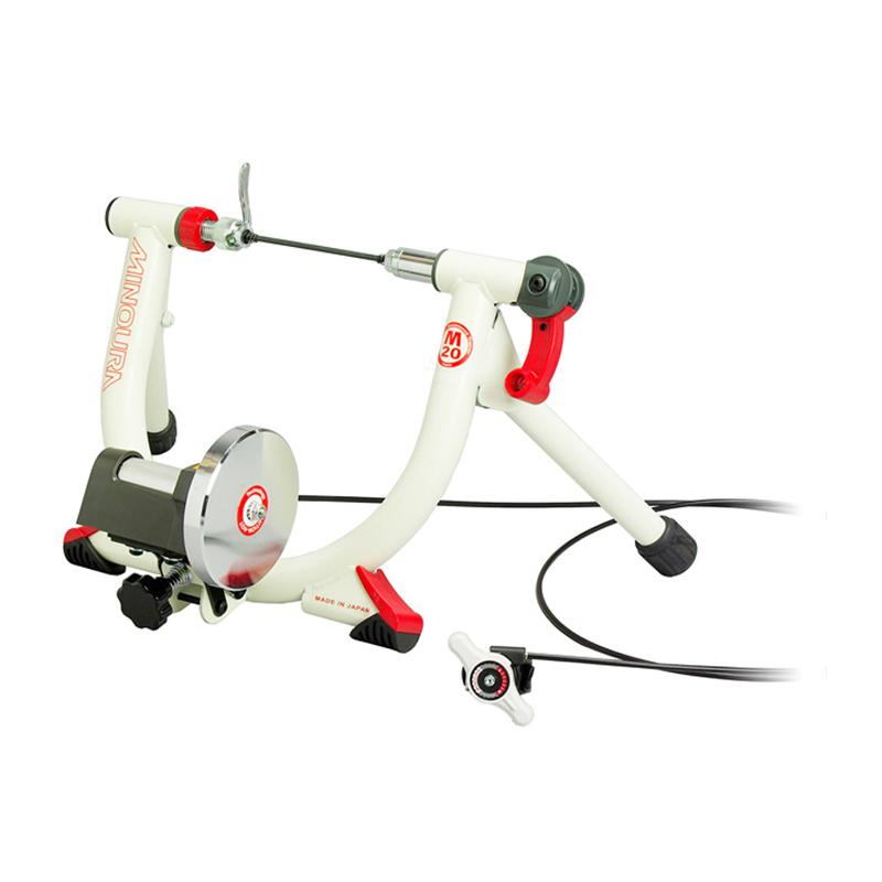 """《即納》【あす楽】MINOURA (ミノウラ) LR240 LiveRide Trainer minimag (LR-240 20""""ミニベロ用トレーナー ミニマグ) マグライザー付[トレーナー(ローラー台)][タイヤドライブ式][固定式ローラー台]"""