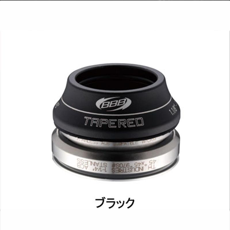BBB (ビービービー) TAPERED (テーパード) インテグラル/15mm BHP-45[ハンドル・ステム・ヘッド][ヘッドパーツ]