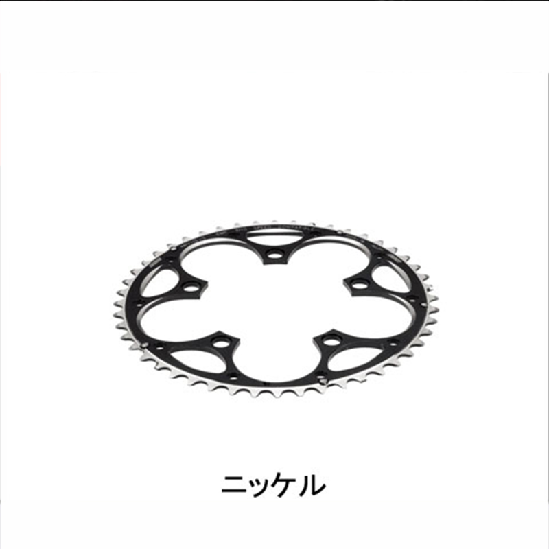 BBB (ビービービー) COMPACT GEAR (コンパクトギア CAMPAGNOLO専用 ) 48T/110 BCR-32C[クランク・チェーンホイール][ロードバイク用]