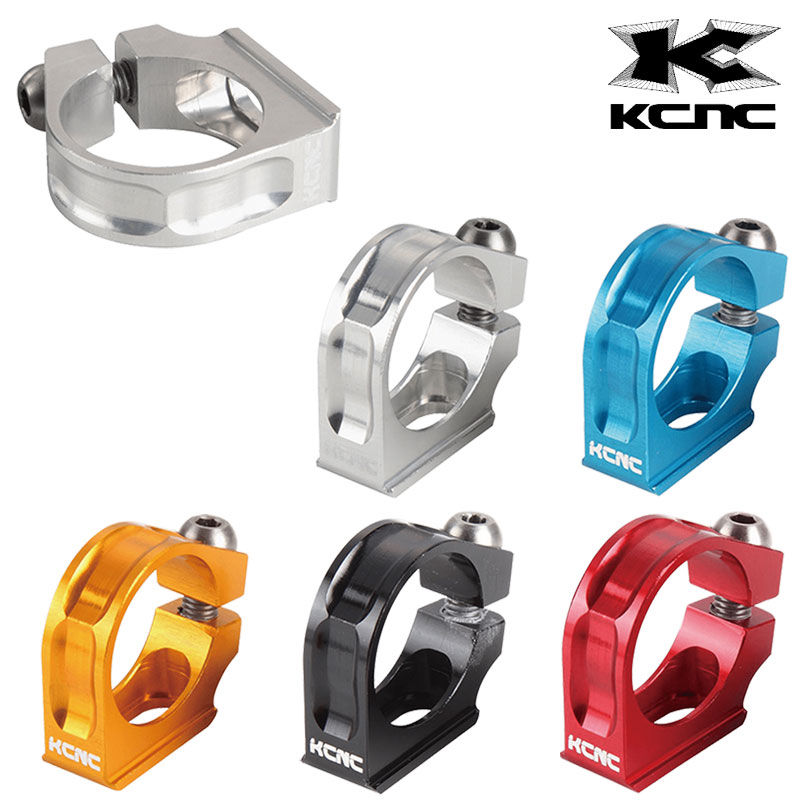 《即納》KCNC ケーシーエヌシー SHIFTER CLAMP M980シフタークランプ[マウンテンバイク用][シフトレバー]