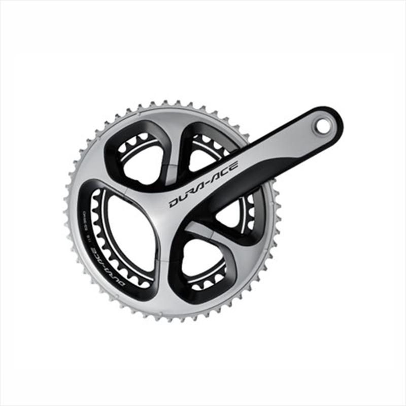 SHIMANO DURA-ACE (シマノ デュラエース) [IFC9000AX42] FC-9000 Crankset (ホローテック2クランクセット) 42×54 165mm[クランクセット(PCD110)][クランク・チェーンホイール]