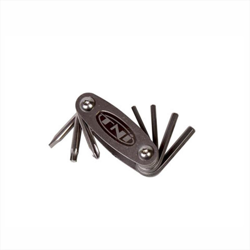 TNI (ティーエヌアイ) mini-8 Titanium Tool Set(ミニ-8チタニウムツールセット) スタンダード[メンテナンス][携帯用工具]【ミニツール マルチツール 携帯工具 】