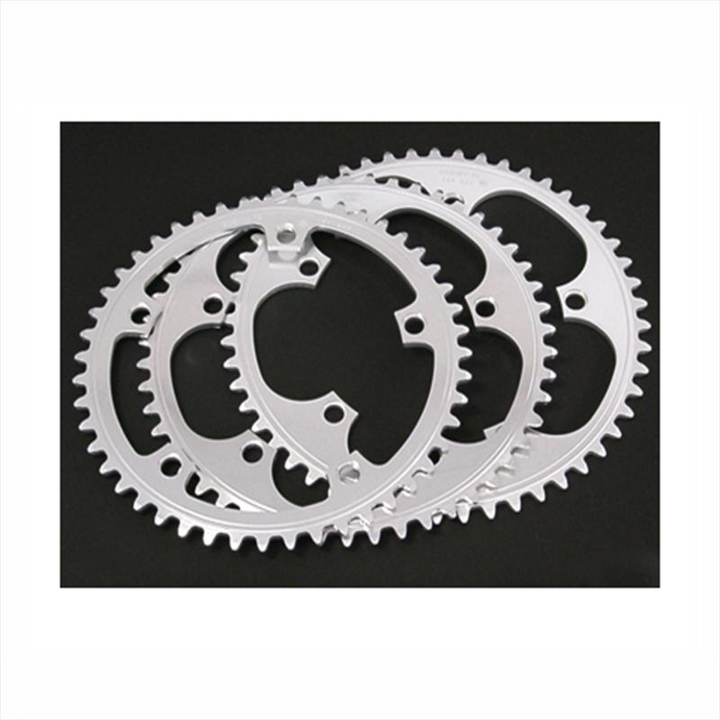SUGINO (スギノ) SSG144 Chain Ring (SSG144チェーンリング) 47T ポリッシュSILVER[ピスト/トラック用][ギヤ板]