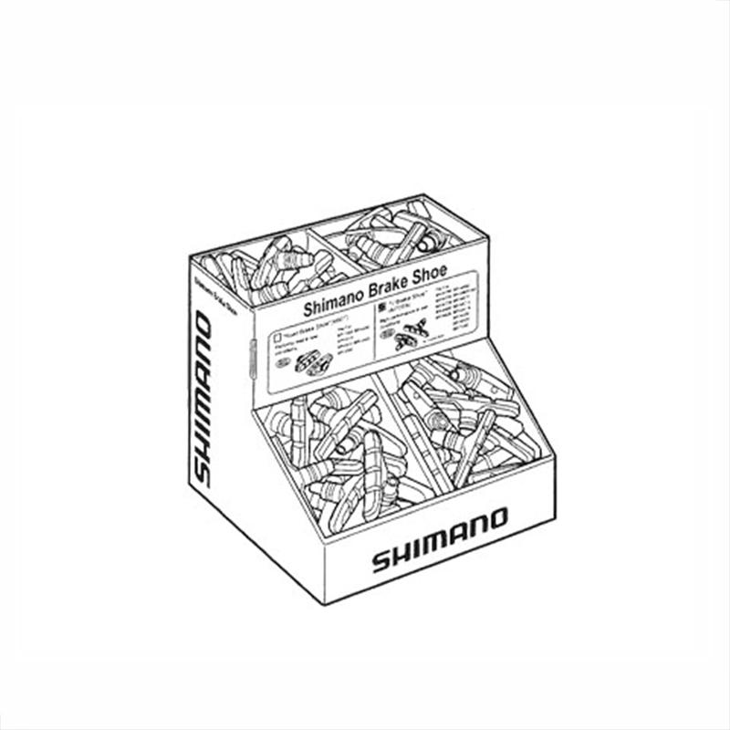 SHIMANO (シマノ) SEMI-BULK BOX 50PAIR (セミバルクBOX 50ペア) BR-M530/M70T3[ブレーキシュー(Vブレーキ用)][消耗品・ワイヤー類]