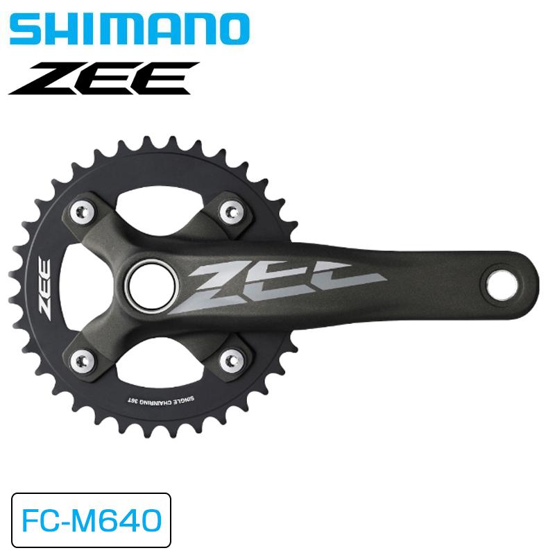 SHIMANO ZEE (シマノZEE) [EFCM640CA6X] FC-M640 Crank Set (クランクセット) 36T 170mm[クランク・チェーンホイール][マウンテンバイク用]