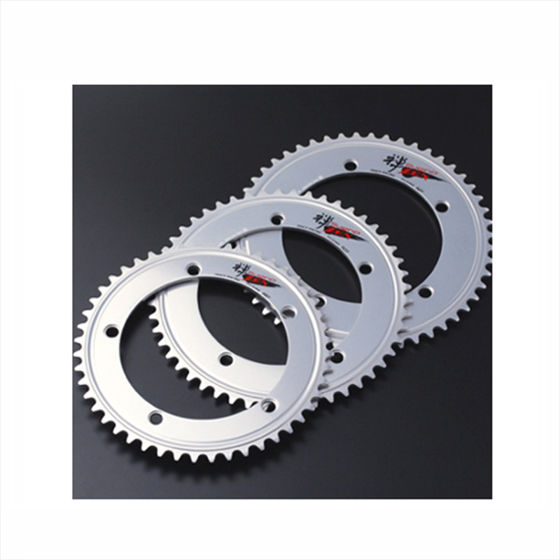 【GWも営業中】SUGINO (スギノ) ZEN 144 Chain Ring (禅144チェーンリング) 48T ポリッシュSILVER[ピスト/トラック用][ギヤ板]
