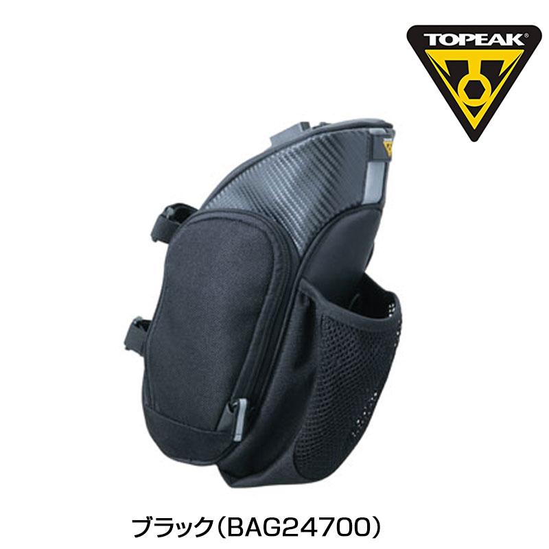 TOPEAK (トピーク) MondoPark Hydro QuickClick (モンドパック ハイドロ クイッククリック) BAG24700[サドルバッグ][ラージサイズ]