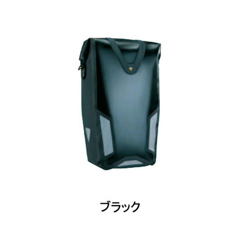 TOPEAK (トピーク) BAG26600 Pannier Dry Bag DX (パニアドライバッグDX) ブラック[サイド・パニアバッグ][自転車バッグ]