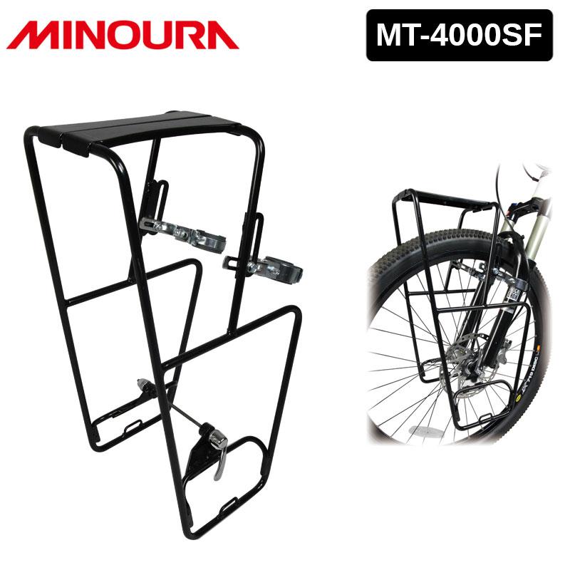 定番キャンバス フロントキャリア MTB ロードバイク クロスバイク ミノウラ MT-4000SF 土日祝も営業 価格交渉OK送料無料 010460001 MT4000SF MINOURA 送料無料 あす楽