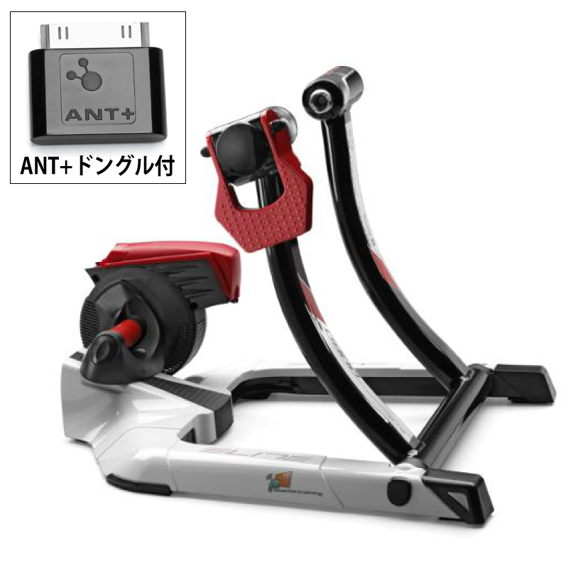 【Zwiftスターターセット ANT+ドングルセット】ELITE(エリート)QUBO DIGITAL SMART B+ (キューボデジタルスマートB+)[タイヤドライブ式][固定式ローラー台]