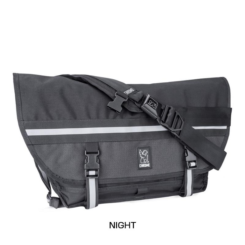 CHROME(クローム) CITIZEN NIGHT SERIES BG-002[メッセンジャーバッグ][身につける・持ち歩く][自転車バッグ]