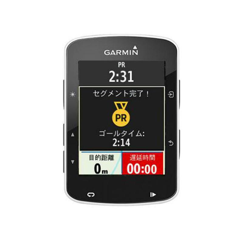 《即納》【あす楽】【高性能地図機能付きGPSナビ】GARMIN(ガーミン) Edge520J (エッジ520Jセット)(心拍計・ケイデンス・スピードセンサーセット)