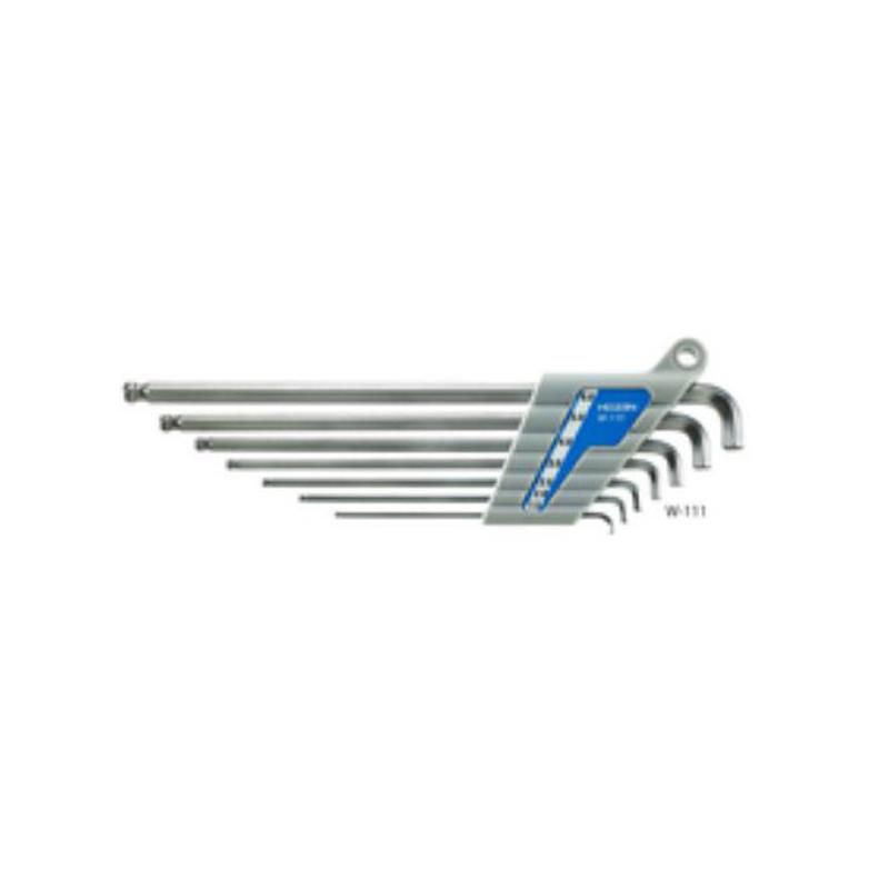 HOZAN(ホーザン) ボールポイントレンチセット W-111[六角レンチ・トルクスレンチ][メンテナンス][一般工具]