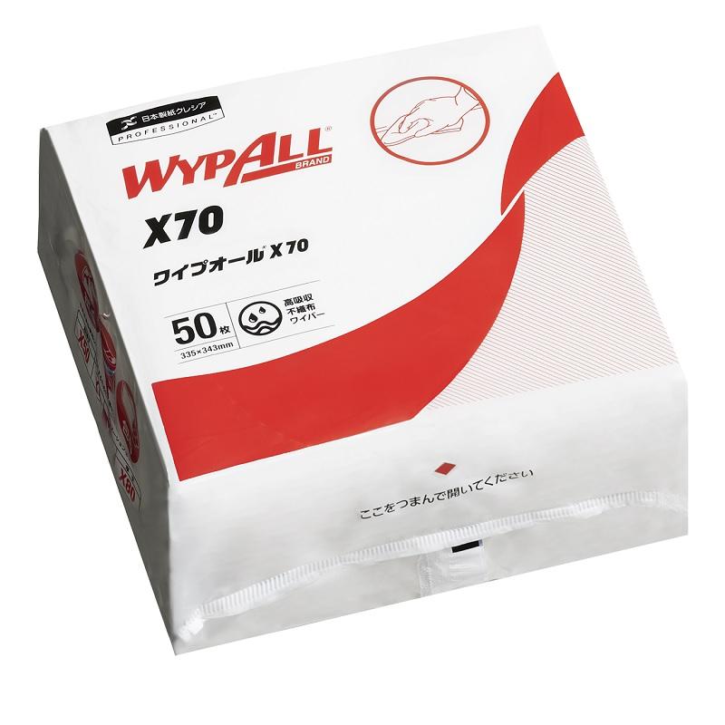 安売り 工具 メンテナンス 新商品 ロードバイク ワイプオール 4つ折り X-70 50枚入 WYPALL