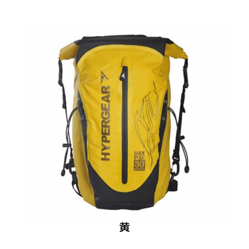 HYPER GEAR(ハイパーギア) DRY PAC PRO GOLD 30L (ドライパックプロゴールド30L)[身につける・持ち歩く][バックパック][自転車バッグ]