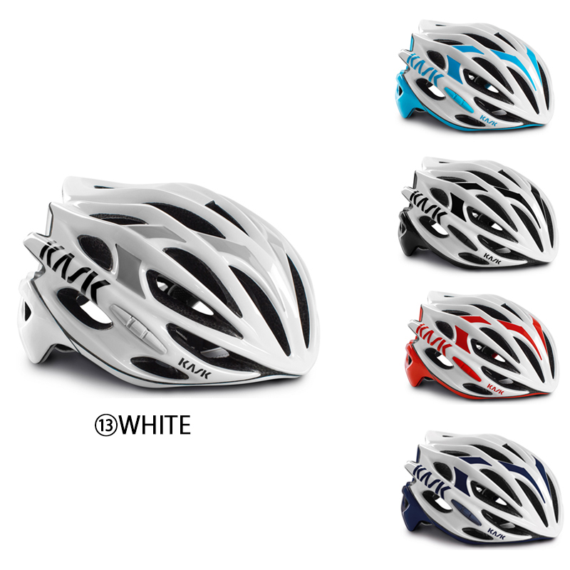 《即納》KASK(カスク) MOJITO (モヒート) Lサイズ 【2018年モデル】ロードバイク用ヘルメットホワイトベースカラー[ロード・MTB][バイザー無し][ヘルメット]
