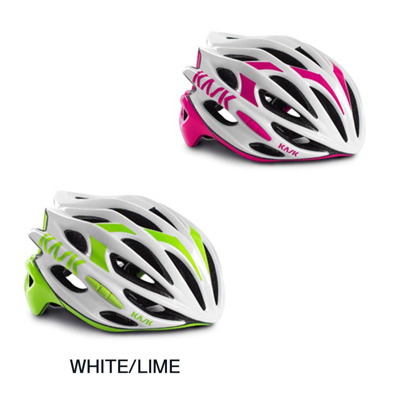 《即納》KASK(カスク) 2018年モデル MOJITO (モヒート) Lサイズ ロードバイク用ヘルメット 【ホワイトベースカラー】[ロード・MTB][バイザー無し][ヘルメット]