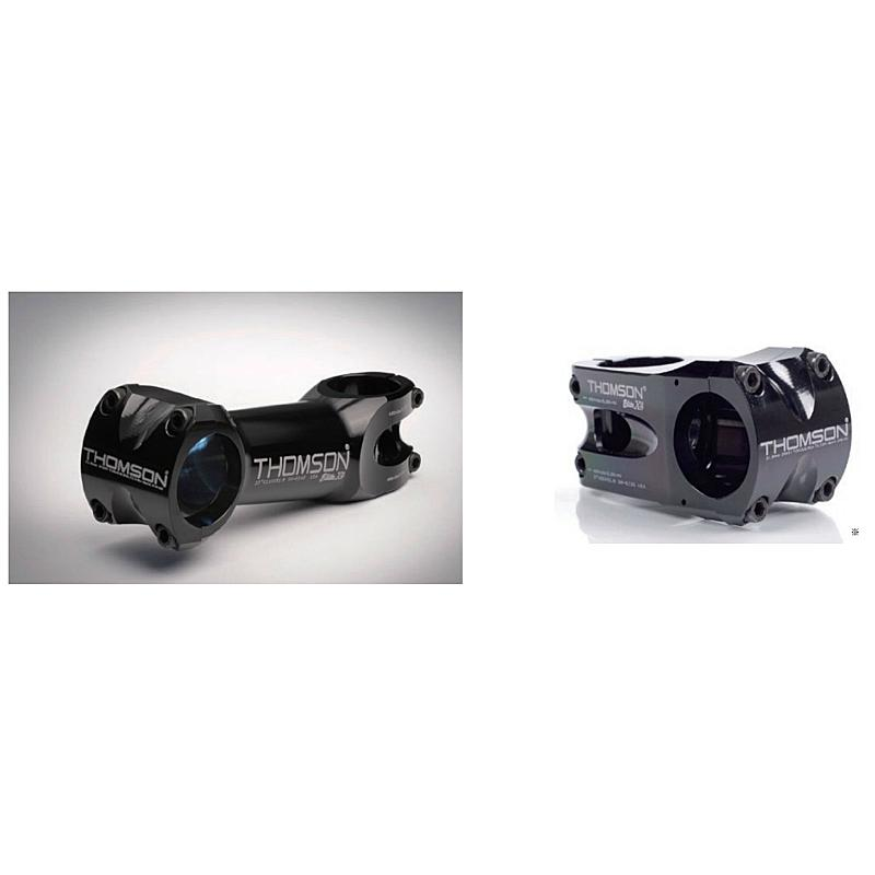 THOMSON(トムソン) MTB STEM X4 BLACK[ハンドル・ステム・ヘッド][MTB/クロスバイク用][31.8mm]