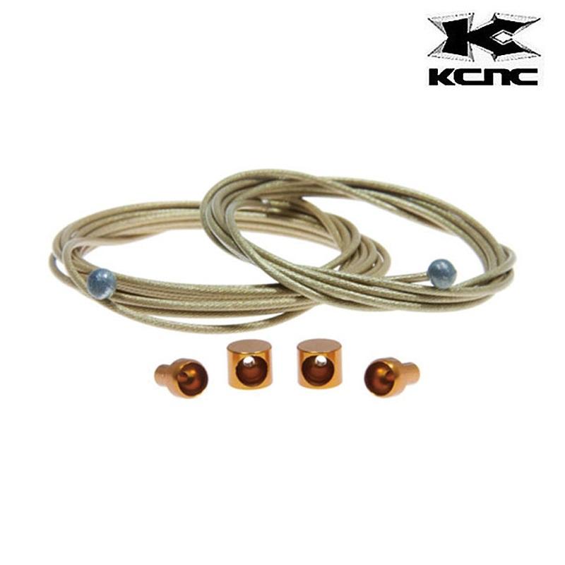 KCNC (ケーシーエヌシー) TIWER-TITANIUM WIRES (Tiwer-チタン製ワイヤー)[ブレーキワイヤー・ホース][消耗品・ワイヤー類]
