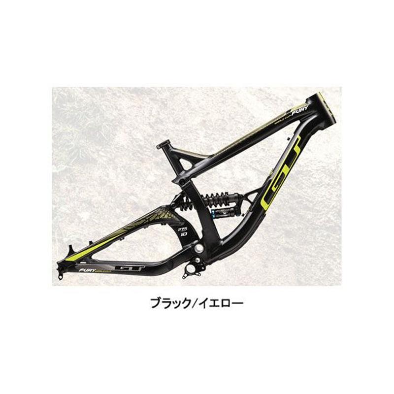 GT(ジーティー) 2015年モデル FURY FRAME (フューリーフレーム)[フレーム・フォーク][MTB]