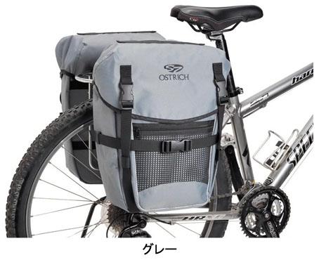 OSTRICH(オーストリッチ) S-7 SIDE BAG サイドバッグ(レインカバー付) 左右共通 一個 S-7[サイド・パニアバッグ][自転車バッグ]