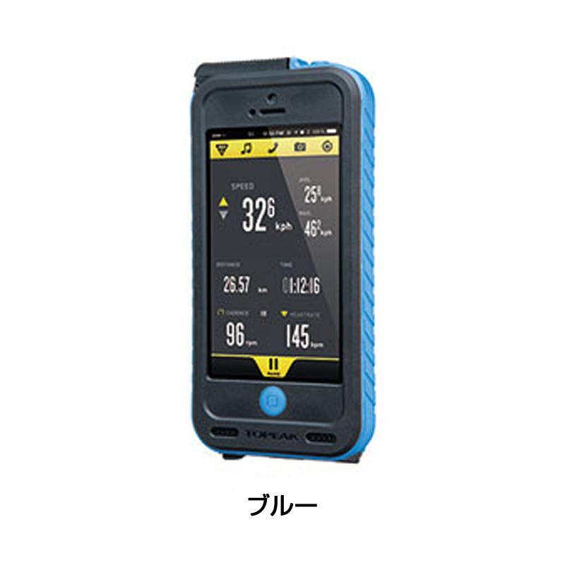 TOPEAK(トピーク) Weatherproof RideCase with PowerPack (ウェザー プルーフ ライドケース「パワーパック内蔵」) セット[スマートフォンホルダー][自転車バッグ]