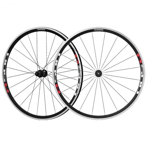 SHIMANO (シマノ) WH-R501-30 Road Wheel Front&Rear Black (ロード用ホイール 前後セット ブラック) EWHR50130PCBY[クリンチャー用(ノーマル)][チューブレス非対応][前・後セット]