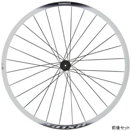 SHIMANO (シマノ) WH-RX05-CL F/R Wheel Set (ホイールセット) 前後セット ホワイト[クリンチャー用(ノーマル)][チューブレス非対応][前・後セット]