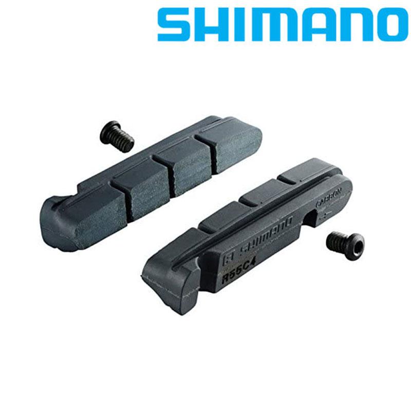 SHIMANO(シマノ) R55C4 BRシュ/カーボン50P[ブレーキシュー(キャリパーブレーキ用)][消耗品・ワイヤー類]