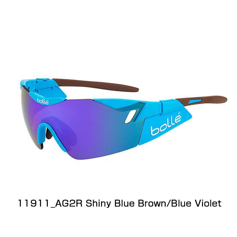 【紫外線対策】bolle(ボレー) 6TH BLUE/BROWN SENSE AG2R 6TH SHINY BLUE SENSE/BROWN BLUE VIOLET 11911[ノーマルレンズ][アイウェア][サングラス]【スポーツサングラス】, ふみや文具店:b171bb49 --- gallery-rugdoll.com