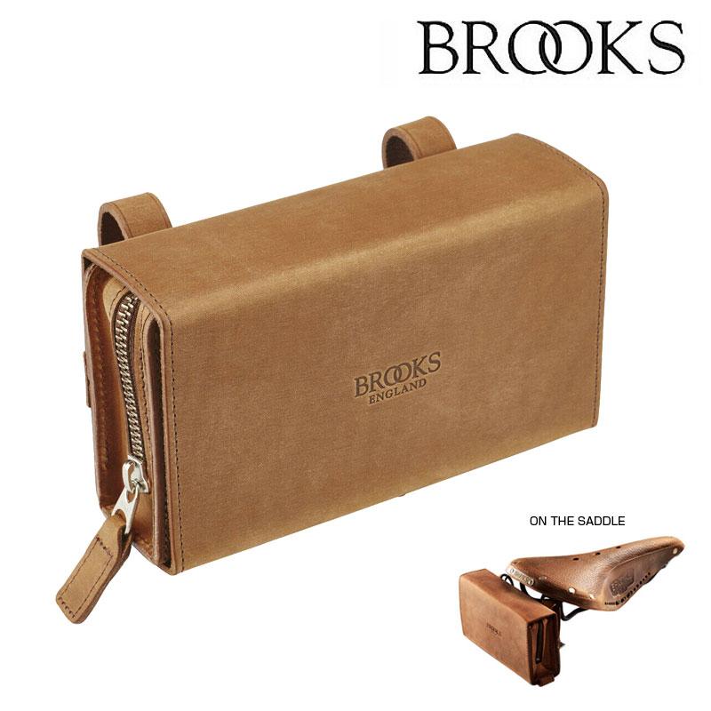 《即納》【GWも営業中】BROOKS(ブルックス) D-SHAPED TOOL BAG (Dシェイプドツールバッグ)[サドルバッグ][ラージサイズ]