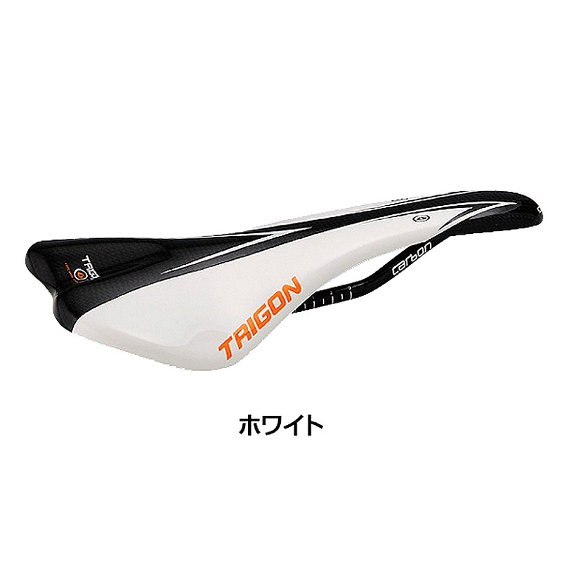 TRIGON(トライゴン) カーボンサドル VCS-03[レーシング][サドル・シートポスト]
