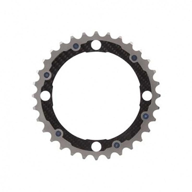 Carbon Ti(カーボンTi) Carbon Ti(カーボンTi) X-RING MTB104/102 ミドル[ギヤ板][クランク・チェーンホイール]